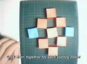 Jak zrobić zabawkę z kostek papieru