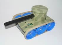 Jak zrobić czołg ze stacji dyskietek