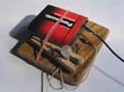 Jak zrobić grę elektryczną - oprawka żarówki #1