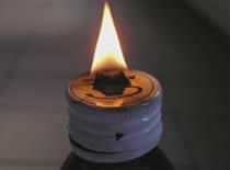 Jak zrobić lampkę olejową ze szklanej buteleczki
