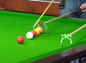Jak grać w snookera - postawa przy stole