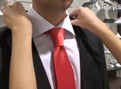 Jak wiązać krawat - węzeł półwindsorski