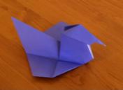 Jak złożyć kaczuszkę z papieru