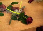 Jak przystroić pojedynczą różę