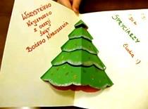 Jak wykonać świąteczną kartkę Bożonarodzeniową