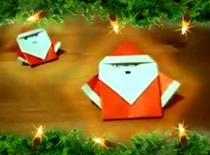 Jak zrobić Mikołaja origami
