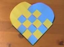 Jak wykonać opakowanie na prezent w kształcie serca