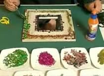 Jak zrobić orientalne lusterko na prezent gwiazdkowy