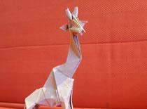 Jak zrobić żyrafę z origami