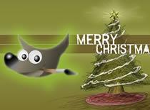 Jak zrobić ruchomą kartkę świąteczną w Gimpie