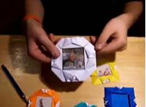 Jak zrobić ramkę origami