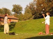 Jak nauczyć się żonglowac cz 1