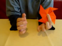 Jak wykonać kolorowy wiatraczek origami