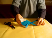 """Jak złożyć ptaszka """"kraskę"""" origami"""