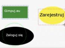 Jak w Gimpie stworzyć przycisk z kodem html