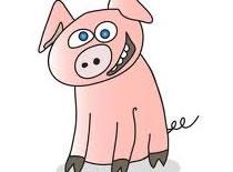 Jak narysować świnkę w stylu Buddy