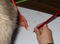 Jak narysować świnkę z kwiatkiem