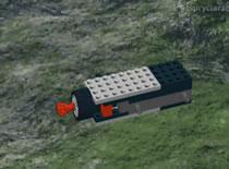Jak zrobić wyrzutnię z klocków Lego
