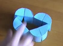 Jak zrobić składaną zabawkę z papieru