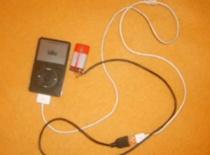 Jak naładować iPoda baterią