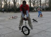 Jak zrobić uni spin 180 unicycle