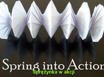 Jak zrobić sprężynę Zyg-Zak origami