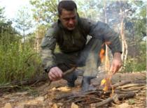 Jak rozpalić ognień w stylu Robinsona Cruzoe