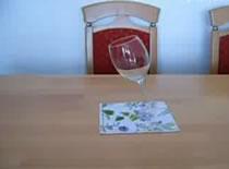 Jak postawić szklankę pod kątem