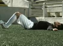 Jak poprawić kondycję w piłce nożnej #7 - unoszenie bioder