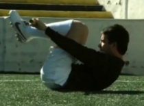 Jak zwiększyć siłę w piłce nożnej #11 - skłon w tył