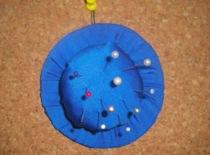 Jak zrobić igielnik na szpilki i igły