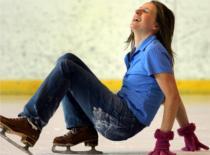 Jak nauczyć się jeździć na łyżwach cz 1