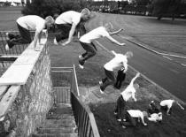 Jak wykonać Drop Jump w Parkour