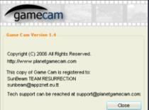 Jak obsługiwać program Game Cam