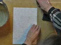 Jak przygotować papier do malowania akwarelami