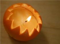 Jak zrobić ozdobną świeczkę z pomarańczy