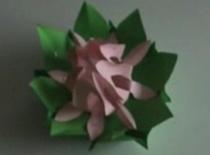 Jak zapakować prezent - forma kwiatu