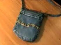 Jak zrobić torebkę jeansową
