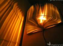 Jak zrobić lampkę z książki z efektem cienia