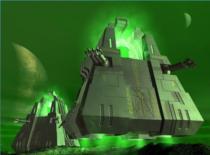 Jak wykonać oświetlenie do modelu Necron Monolith #3