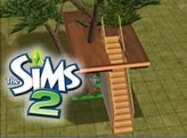 Jak zbudować domek na drzewie w The Sims 2
