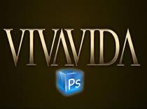 Jak zrobić złoty i srebrnego tekst w Photoshop