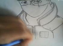 Jak narysować Kakashiego