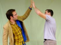 Jak przybijać piątkę w stylu Kung Fu #3