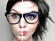 Jak wykonać makijaż pod okulary dla krótkowidza
