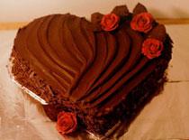 Jak zrobić ciasto z czekoladą w kształcie serca