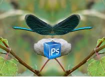 Jak zrobić odbicie lutrzane napisu w Photoshopie