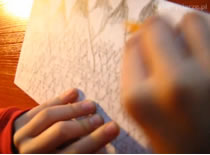Jak namalować górski krajobraz ołówkiem
