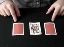 Jak wykonać uliczną sztuczkę z trzema kartami