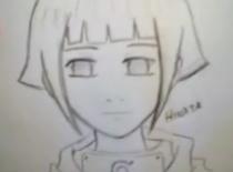 Jak narysować Hinatę z Naruto